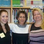 Scholarship Recipients with Susan Hughes